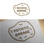 e-netsさんのジャガイモ料理専門キッチンカー「POTATO GARAGE」のロゴへの提案