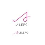 レディースアパレル、コスメの販売会社「ALEFS」のロゴへの提案