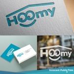 nekosuさんの不動産ポータルサイト運営会社「Hoomy」のロゴへの提案