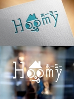 m_mtbooksさんの不動産ポータルサイト運営会社「Hoomy」のロゴへの提案