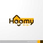 sa_akutsuさんの不動産ポータルサイト運営会社「Hoomy」のロゴへの提案