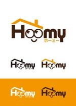 AD-Yさんの不動産ポータルサイト運営会社「Hoomy」のロゴへの提案
