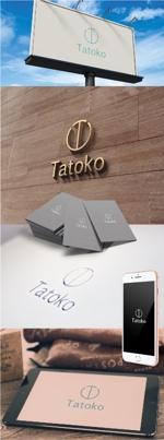 katsu31さんの「株式会社Tatoko」の会社ロゴへの提案