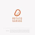 mg_webさんのジャガイモ料理専門キッチンカー「POTATO GARAGE」のロゴへの提案