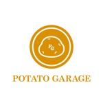 asuoasuoさんのジャガイモ料理専門キッチンカー「POTATO GARAGE」のロゴへの提案