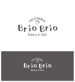yuko112576さんのカリフォルニアにオープン予定のカフェ「Brio Brio」のロゴへの提案
