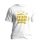 kohinata_designさんのジャガイモ料理専門キッチンカー「POTATO GARAGE」のロゴへの提案