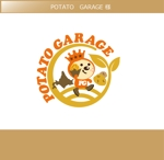 FISHERMANさんのジャガイモ料理専門キッチンカー「POTATO GARAGE」のロゴへの提案