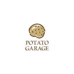 washさんのジャガイモ料理専門キッチンカー「POTATO GARAGE」のロゴへの提案