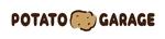 waami01さんのジャガイモ料理専門キッチンカー「POTATO GARAGE」のロゴへの提案