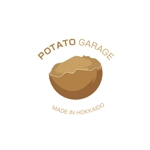s10qm0224さんのジャガイモ料理専門キッチンカー「POTATO GARAGE」のロゴへの提案
