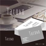 smoke-smokeさんの「株式会社Tatoko」の会社ロゴへの提案