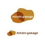 MacMagicianさんのジャガイモ料理専門キッチンカー「POTATO GARAGE」のロゴへの提案