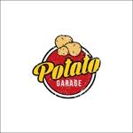 queuecatさんのジャガイモ料理専門キッチンカー「POTATO GARAGE」のロゴへの提案