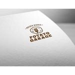 fujiseyooさんのジャガイモ料理専門キッチンカー「POTATO GARAGE」のロゴへの提案