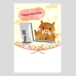 chiro-chiroさんのパソコン教室の年賀状への提案