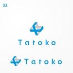 siraphさんの「株式会社Tatoko」の会社ロゴへの提案