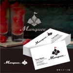 smoke-smokeさんの飲食店 「marquee」の ロゴへの提案