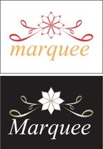 DAngeloさんの飲食店 「marquee」の ロゴへの提案