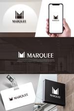 hi06さんの飲食店 「marquee」の ロゴへの提案