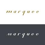 chizrouxさんの飲食店 「marquee」の ロゴへの提案