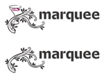 TEXTUREさんの飲食店 「marquee」の ロゴへの提案