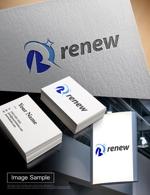 hirokiabe58さんの新会社「renew」のロゴ ~磨き・再生の内装業~への提案