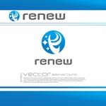 chopin1810lisztさんの新会社「renew」のロゴ ~磨き・再生の内装業~への提案