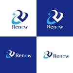 horieyutaka1さんの新会社「renew」のロゴ ~磨き・再生の内装業~への提案
