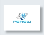 zen634さんの新会社「renew」のロゴ ~磨き・再生の内装業~への提案