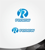 investさんの新会社「renew」のロゴ ~磨き・再生の内装業~への提案