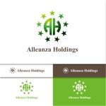 MASUK3041FDさんのアレンザホールディングス株式会社「Alleanza Holdings」の会社ロゴマークへの提案