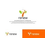 hope2017さんの新会社「renew」のロゴ ~磨き・再生の内装業~への提案
