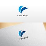 REVELAさんの新会社「renew」のロゴ ~磨き・再生の内装業~への提案