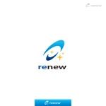 yokichikoさんの新会社「renew」のロゴ ~磨き・再生の内装業~への提案