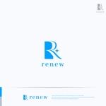 RIKU5555さんの新会社「renew」のロゴ ~磨き・再生の内装業~への提案