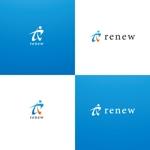 weborgさんの新会社「renew」のロゴ ~磨き・再生の内装業~への提案