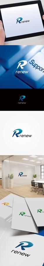 labokinoさんの新会社「renew」のロゴ ~磨き・再生の内装業~への提案