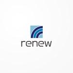 siraphさんの新会社「renew」のロゴ ~磨き・再生の内装業~への提案