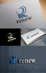 t-youhaさんの新会社「renew」のロゴ ~磨き・再生の内装業~への提案