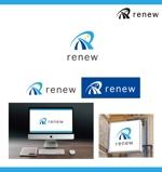 merody0603さんの新会社「renew」のロゴ ~磨き・再生の内装業~への提案
