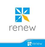 hiko-kzさんの新会社「renew」のロゴ ~磨き・再生の内装業~への提案
