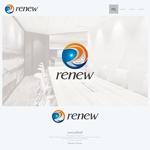 onesizefitsallさんの新会社「renew」のロゴ ~磨き・再生の内装業~への提案