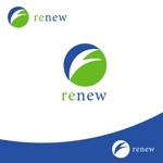 viewwingsさんの新会社「renew」のロゴ ~磨き・再生の内装業~への提案