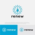drkigawaさんの新会社「renew」のロゴ ~磨き・再生の内装業~への提案
