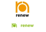 threewheelsさんの新会社「renew」のロゴ ~磨き・再生の内装業~への提案