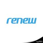 rogomaruさんの新会社「renew」のロゴ ~磨き・再生の内装業~への提案