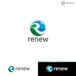le_cheetahさんの新会社「renew」のロゴ ~磨き・再生の内装業~への提案