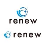 tog_designさんの新会社「renew」のロゴ ~磨き・再生の内装業~への提案