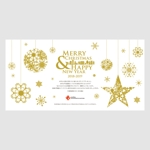 lanpeeさんのクリスマス&年賀カードのデザイン依頼への提案
